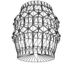 3D illusion led lamp lantern free vector download for laser engraving machines