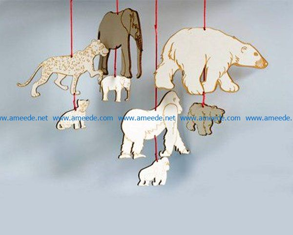 Animal file cdr and dxf free vector download for Laser cut