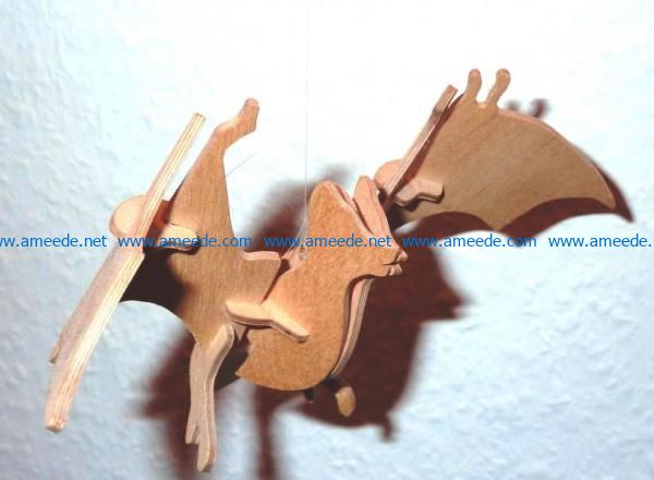 Bat file cdr and dxf free vector download for Laser cut