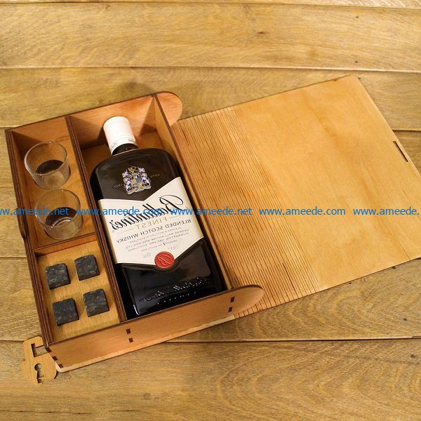 Book shaped wine tray file cdr and dxf free vector download for Laser cut