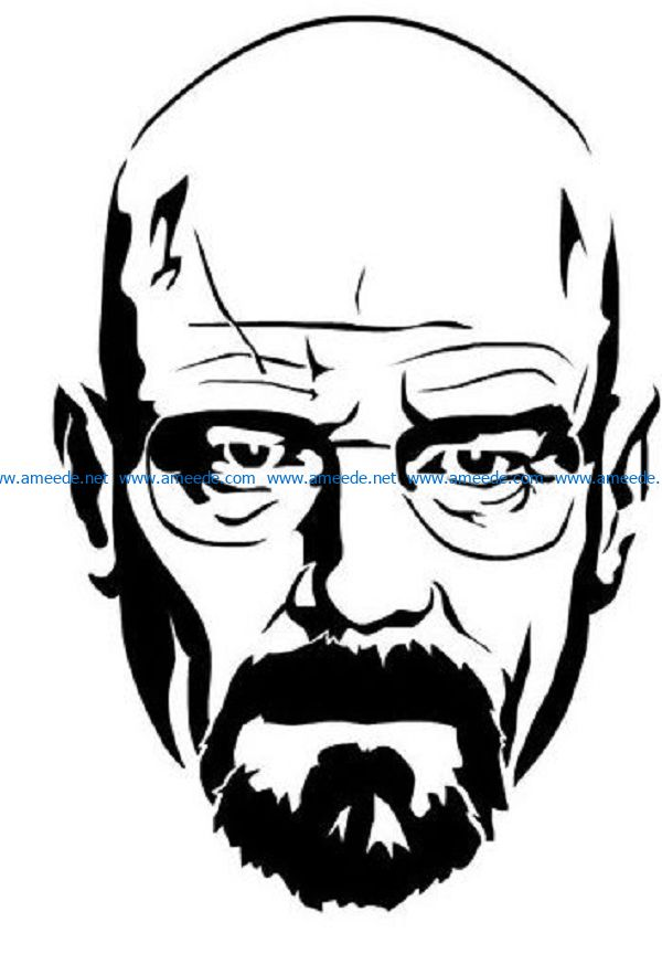 Breaking Bad file cdr and dxf free vector download for print or laser engraving machines
