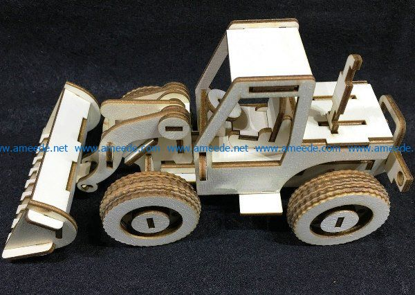 Bulldozers file cdr and dxf free vector download for Laser cut