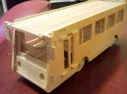Bus file cdr and dxf free vector download for Laser cut CNC