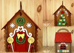 Candy house file cdr and dxf free vector download for Laser cut