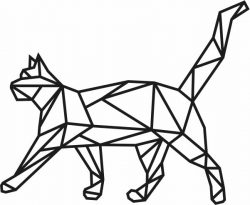 Cat murals file cdr and dxf free vector download for Laser cut Plasma file Decal