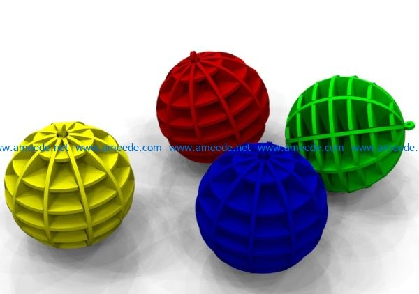 Christmas decoration balls file cdr and dxf free vector download for Laser cut
