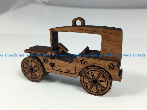 Classic wooden toy cars file cdr and dxf free vector download for Laser cut