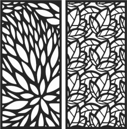 Design pattern panel screen E0007034 file cdr and dxf free vector download for Laser cut CNC