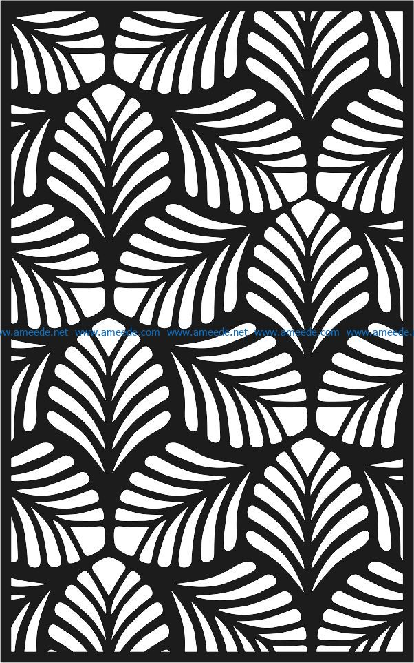 Design pattern panel screen E0007105 file cdr and dxf free vector download for Laser cut CNC