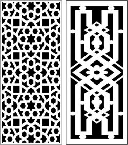 Design pattern panel screen E0007233 file cdr and dxf free vector download for Laser cut CNC