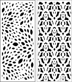 Design pattern panel screen E0007234 file cdr and dxf free vector download for Laser cut CNC