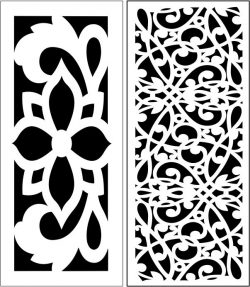 Design pattern panel screen E0007320 file cdr and dxf free vector download for Laser cut CNC