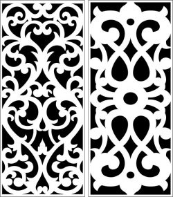 Design pattern panel screen E0007323 file cdr and dxf free vector download for Laser cut CNC