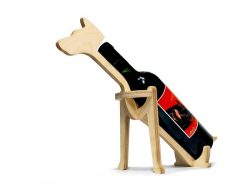 Dog wine racks file cdr and dxf free vector download for Laser cut