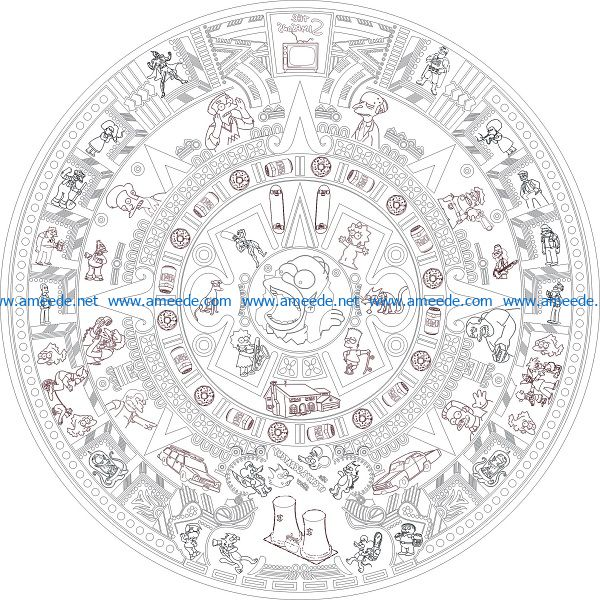 Drumhead file cdr and dxf free vector download for Laser cut