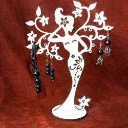 Fairy tree file cdr and dxf free vector download for Laser cut