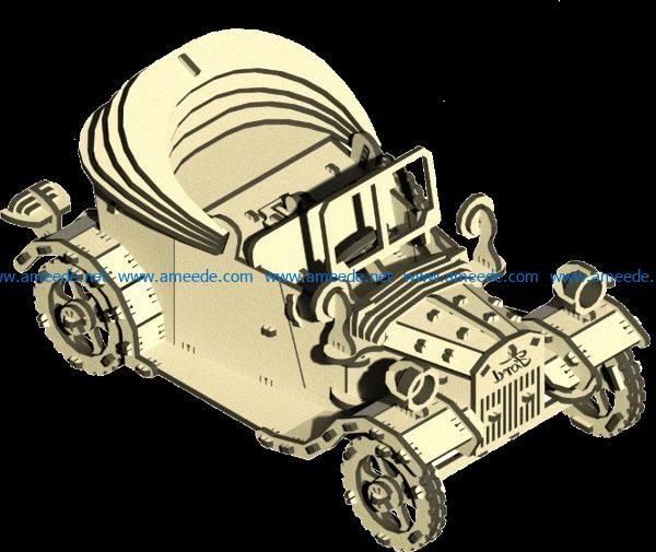 Ford car file cdr and dxf free vector download for Laser cut