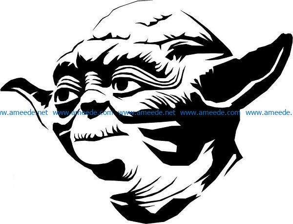Goblin Mat ego file cdr and dxf free vector download for print or laser engraving machines