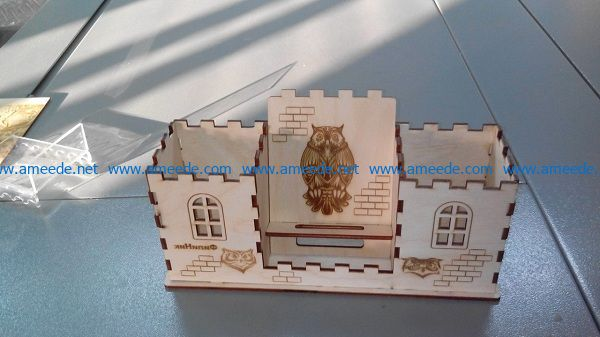 House owl owl file cdr and dxf free vector download for Laser cut