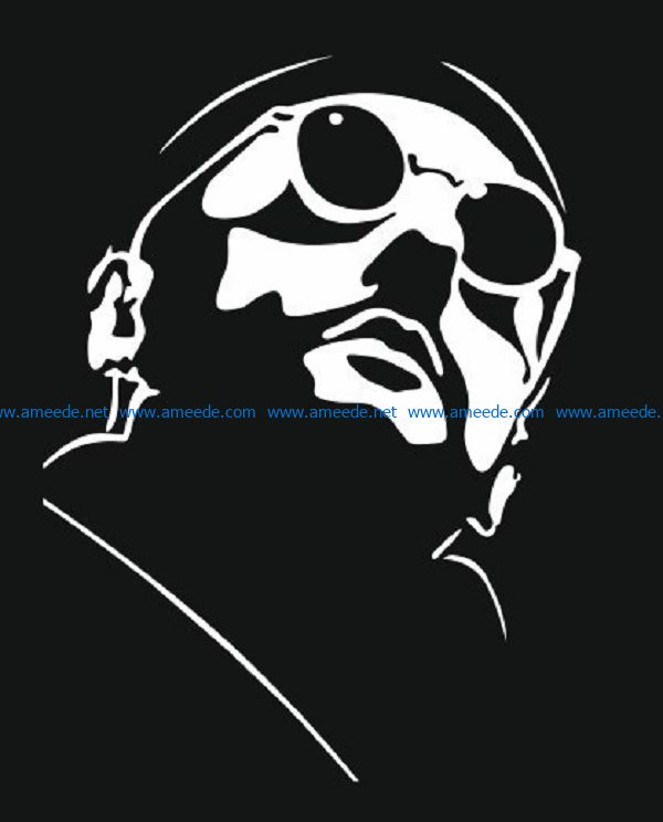 Leon killer file cdr and dxf free vector download for print or laser engraving machines