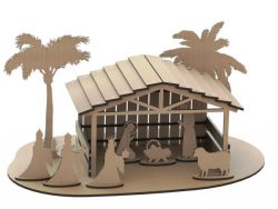 Little house file cdr and dxf free vector download for Laser cut
