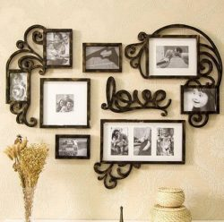 Love heart photo frames file cdr and dxf free vector download for Laser cut