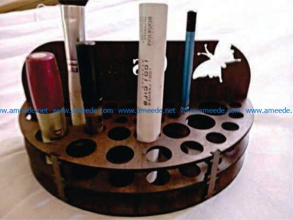 Makeup shelf file cdr and dxf free vector download for Laser cut