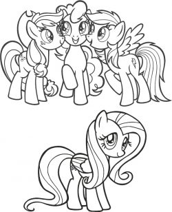 My Little Pony file cdr and dxf free vector download for print or laser engraving machines