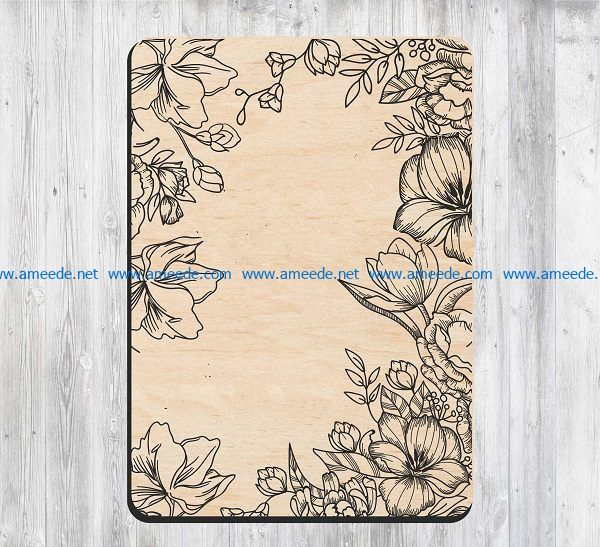 Notebook to teacher file cdr and dxf free vector download for print or laser engraving machines