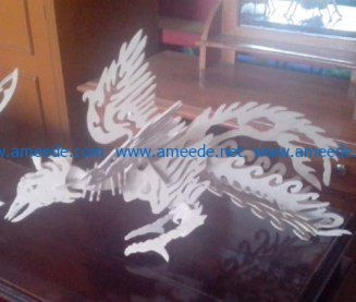 Phoenix bird file cdr and dxf free vector download for Laser cut
