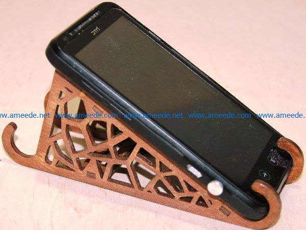 Phone racks file cdr and dxf free vector download for Laser cut
