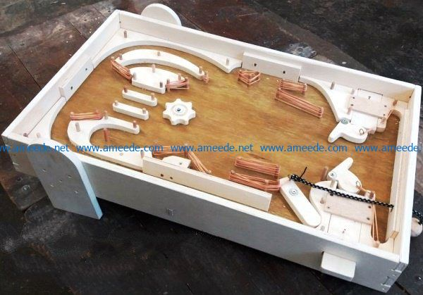 Pinball file cdr and dxf free vector download for Laser cut