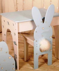 Rabbit ears chair file cdr and dxf free vector download for Laser cut CNC