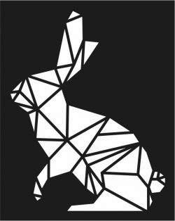 Rabbit murals file cdr and dxf free vector download for Laser cut Plasma file Decal