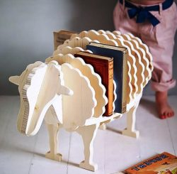 Shelf sheep file cdr and dxf free vector download for Laser cut CNC