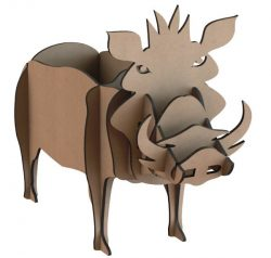 Shelves of wild boar file cdr and dxf free vector download for Laser cut CNC