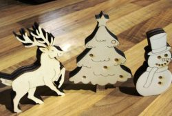 Snowman file cdr and dxf free vector download for Laser cut