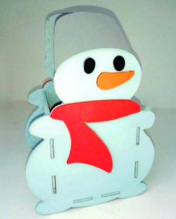 Snowman pencil holder file cdr and dxf free vector download for Laser cut