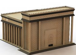 Solomon's temple file cdr and dxf free vector download for Laser cut