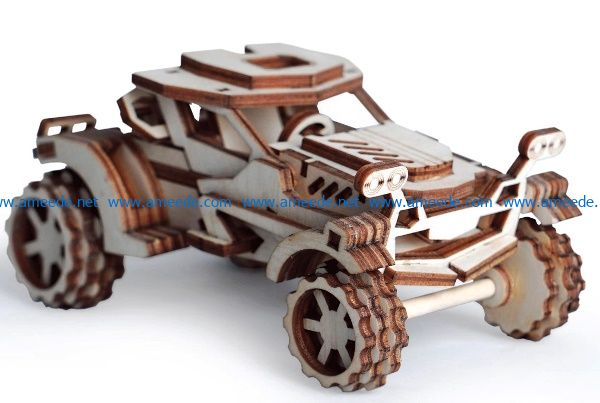 Toy car file cdr and dxf free vector download for Laser cut