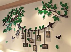 Tree photo frame with bird file cdr and dxf free vector download for Laser cut