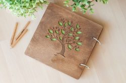 Tree picture file cdr and dxf free vector download for print or laser engraving machines