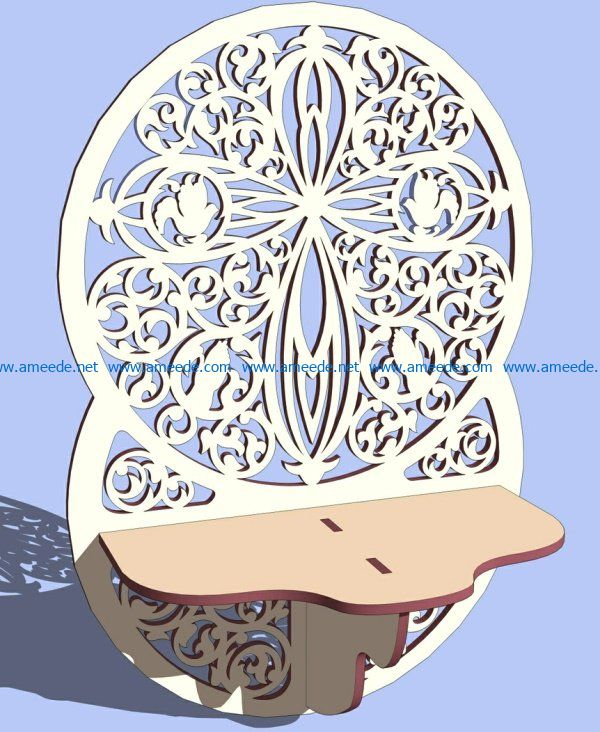 Wall shelves file cdr and dxf free vector download for Laser cut