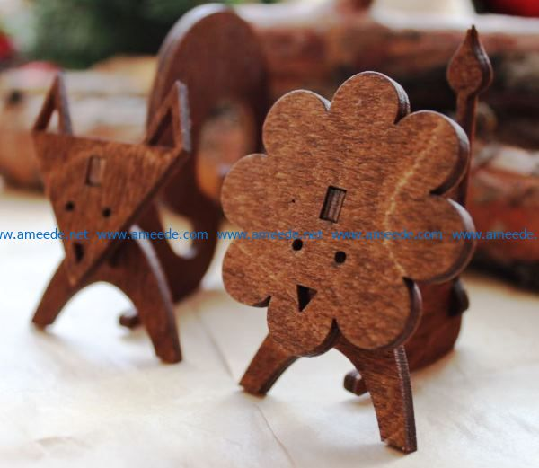 Wooden animal file cdr and dxf free vector download for Laser cut