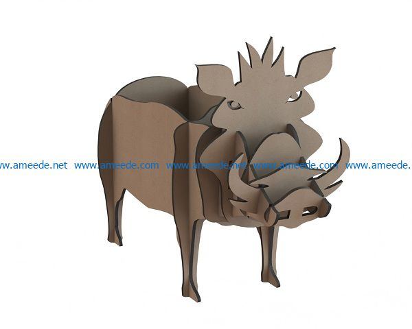 Wooden boar file cdr and dxf free vector download for Laser cut