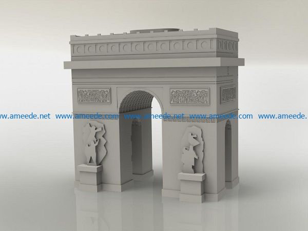 archway file cdr and dxf free vector download for Laser cut