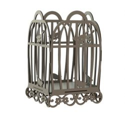 beautiful bird cage file cdr and dxf free vector download for Laser cut