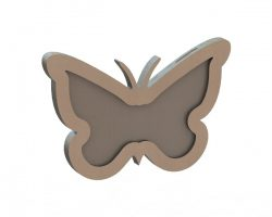 butterfly file cdr and dxf free vector download for Laser cut