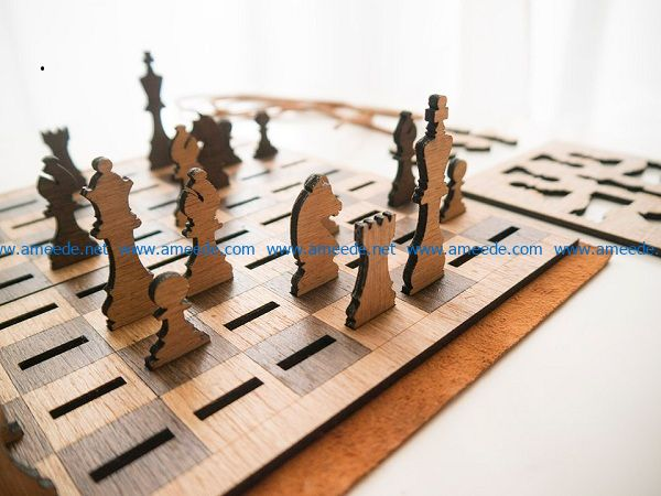 chessboard file cdr and dxf free vector download for Laser cut