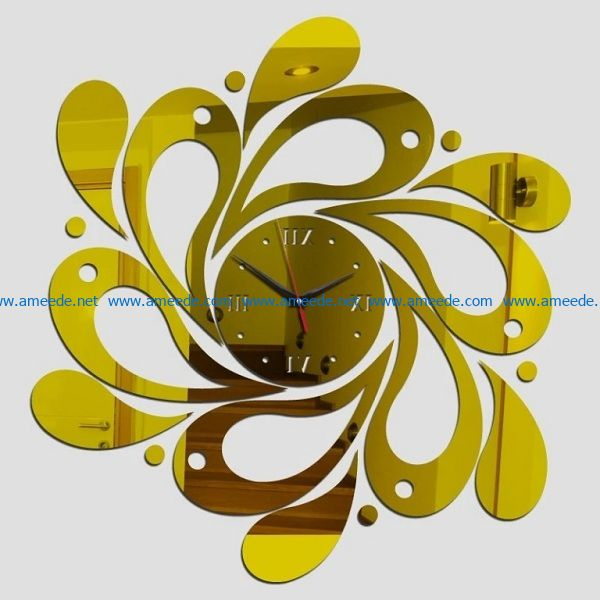 clockwatcher file cdr and dxf free vector download for print or laser engraving machines